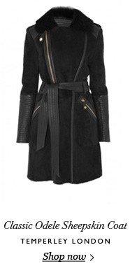 Classic Odele Sheepskin Coat