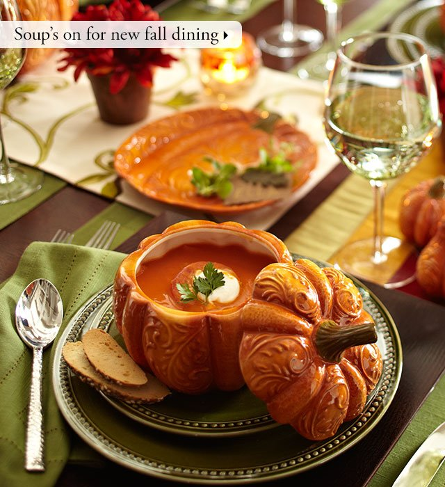 Soup's on for new fall dining