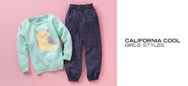 CALIFORNIA COOL: GIRLS' STYLES, Event Ends September 30, 9:00 AM PT >