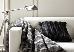 Faux Fur Indulgence: Throws & Pillows