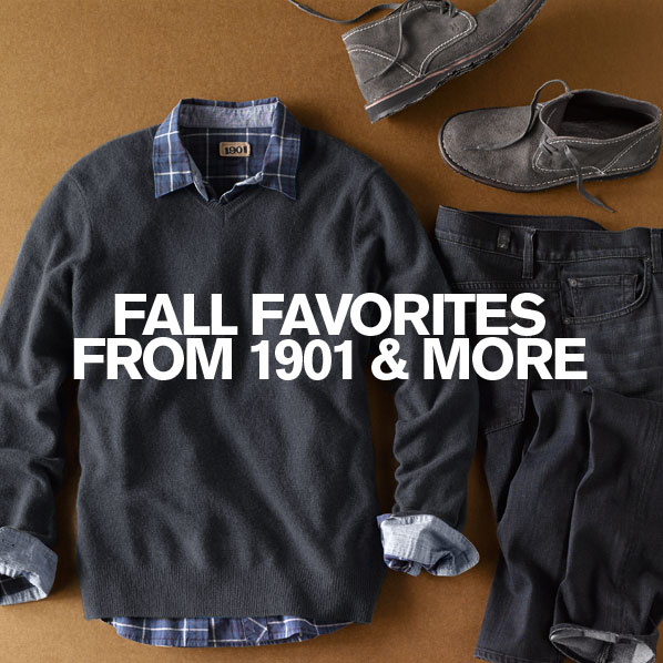 FALL FAVORITES FROM 1901 & MORE