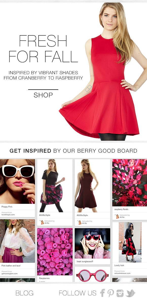 Fresh For Fall...Berry Good