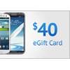 Get a $40 eGift Card