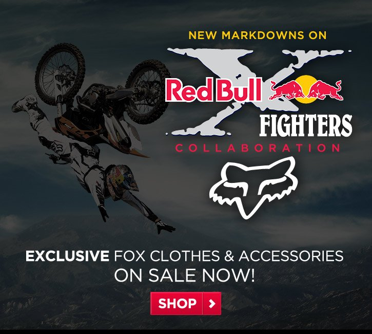 New Markdowns on X-Fighters Collab Clothes & Accesories