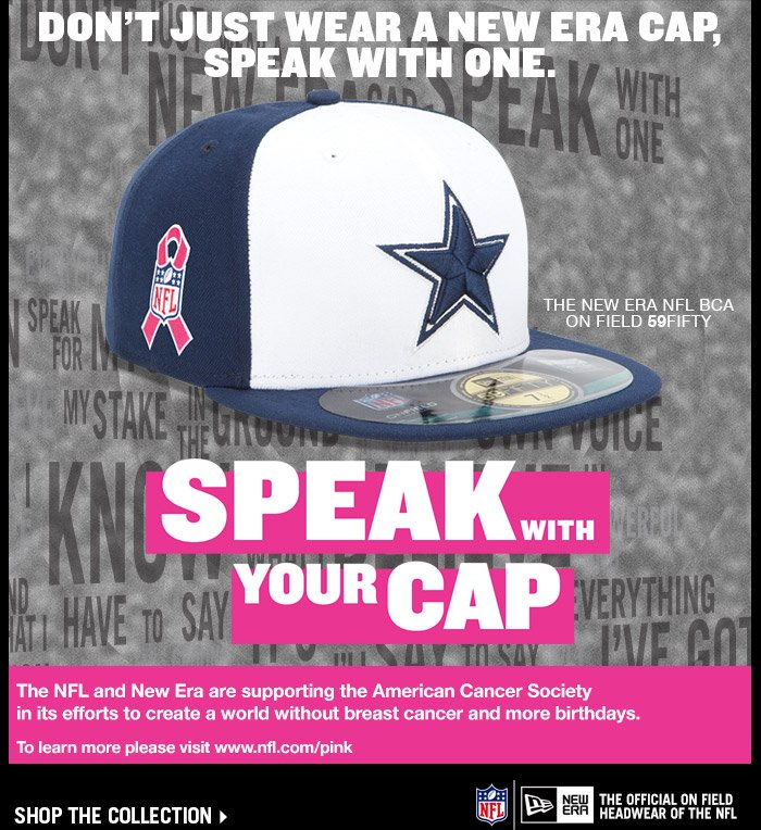 Presenting the Official NFL Breast Cancer Awareness Collection.