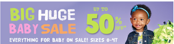 BIG HUGE BABY SALE!