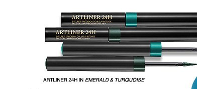 ARTLINER 24H IN EMERALD & TURQUOISE