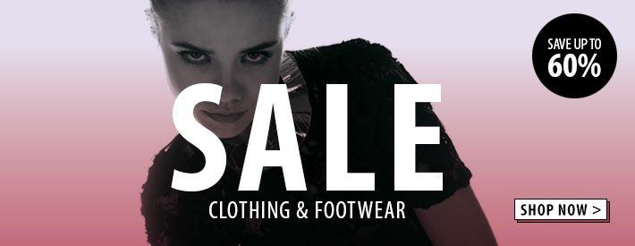 Sale Clothing + Footwear