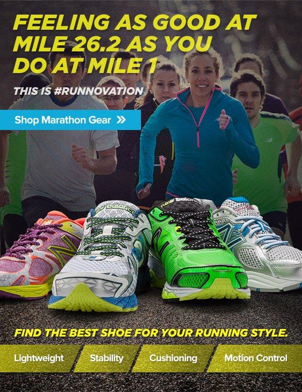 Shop Marathon Gear