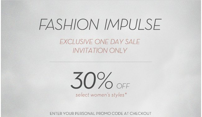 Fashion Impulse | 30% Off