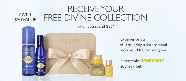 Receive your Free Divine Collection when you spend $85 use code NEWDIVINE at checkout