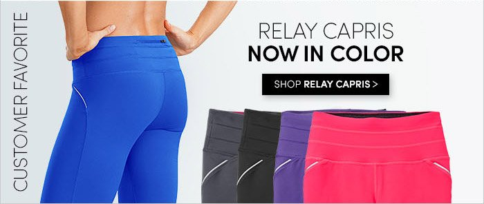 RELAY CAPRIS NOW IN COLOR | SHOP RELAY CAPRIS