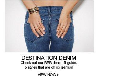 RRR Denim Fit Guide
