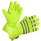 Xelement Men's Gauntlet Neon Green Waterproof Tri-Tex Textile Gloves