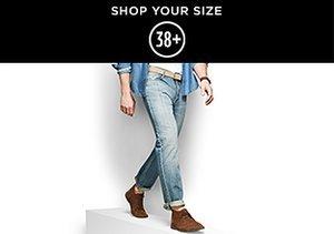 Denim: Sizes 38+
