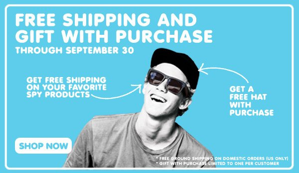Free Shipping and Gift with Purchase through September 30