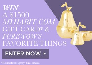 WIN A $1,500 MYHABIT GIFT CARD & PUREWOW'S FAVORITE THINGS