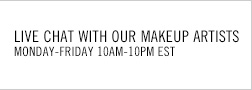 Live Chat with our makeup artists Monday-Friday 10am - 10pm EST.