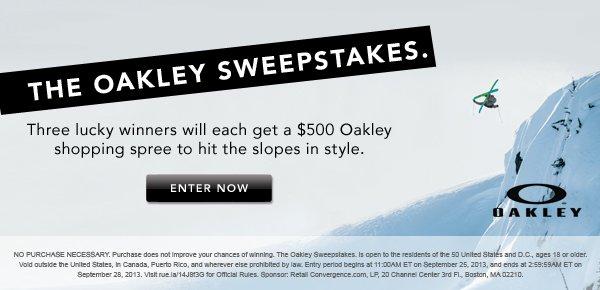 Oakley Sweeps