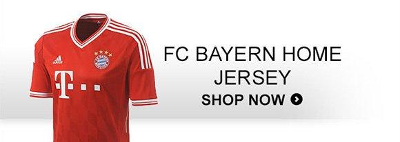 Shop FC Bayern Home Jersey »