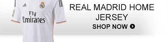Shop Real Madrid Home Jersey »