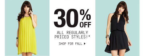 SHOP FOR FALL