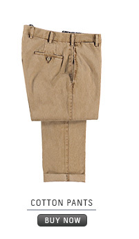 Pants: Cotton pants
