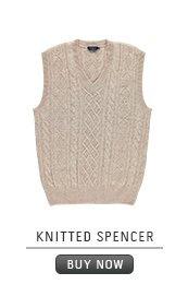 Spencer: Knitted spencer