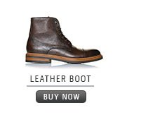 Shoe: Leather grain boot