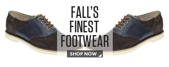 FALL'S FINEST FOOTWEAR SHOP NOW
