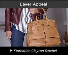 Layer Appeal - Florentine Clayton Satchel