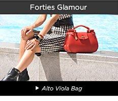 Forties Glamour - Alto Viola Bag