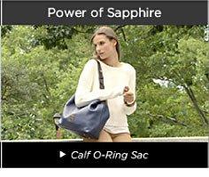 Power of Sapphire - Calf O-Ring Sac