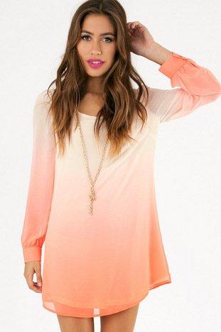 OMBRELLA SHIFT DRESS 37