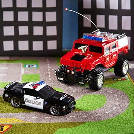 Police, Fire & Rescue: Toy Vehicles