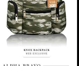 Knox Backpack - Shop Alpha Bravo