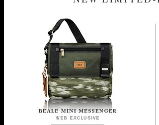 Beale Mini Messenger - Shop Alpha Bravo
