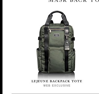 Lejeune Backpack Tote - Shop Alpha Bravo