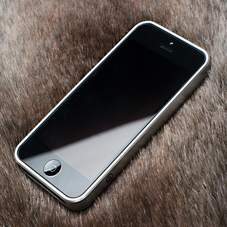 Bumper Case for iPhone // Silver