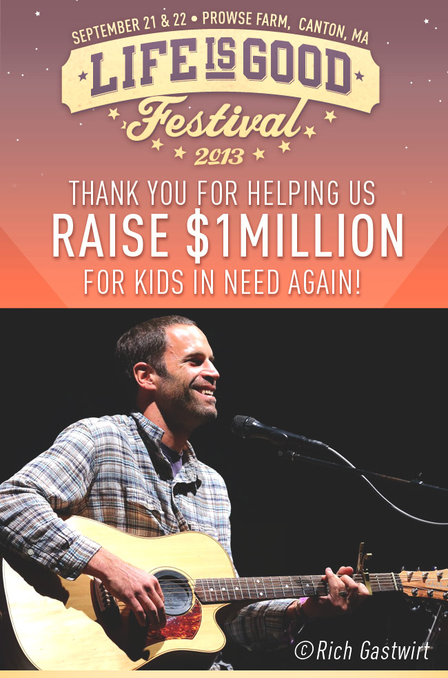 Thanks for Helping us Raise $1 Millions for Kids