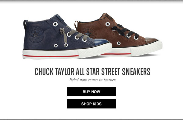 CHUCK TAYLOR ALL STAR STREET SNEAKERS