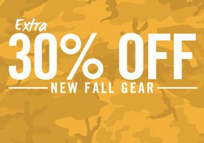 Shop Extra 30% Off: New Fall Gear
