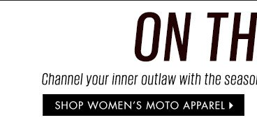 Shop Women's Moto Apparel
