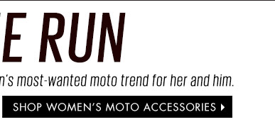 Shop Women's Moto Accessories