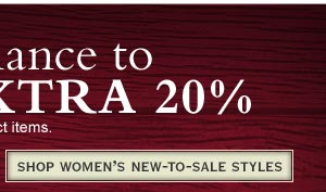 Shop Women's New-to-Sale Styles