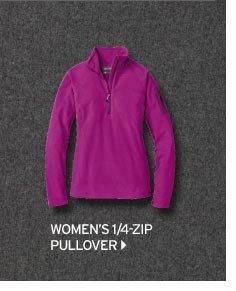 Women's 1/4-Zip Pullover