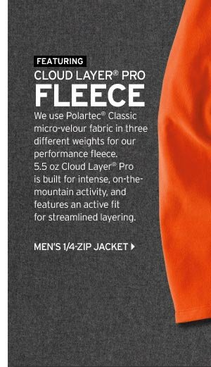 Men's Cloud Layer Pro Fleece 1/4 Zip