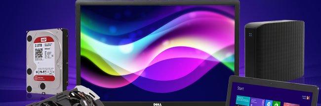 HDD, LCD, External HDD