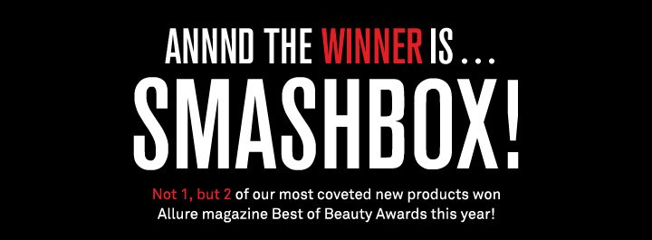 And The Winner Is Smashbox