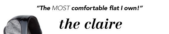 'The MOST comfortable flat I own!' - Payless.com customer referring to the Claire Scrunch Flat